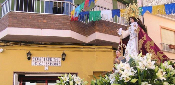 Virgen de la Esperanza, patrona de Calasparra