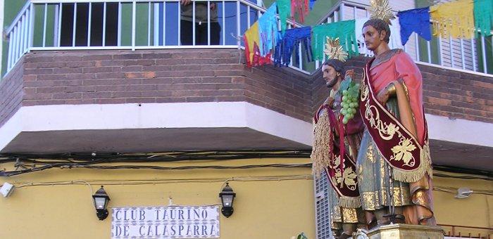 San Abdón y San Senén, patronos de Calasparra